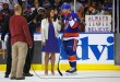 MSG Network's Shannon Hogan interviews John Tavares following the NY Islanders victory